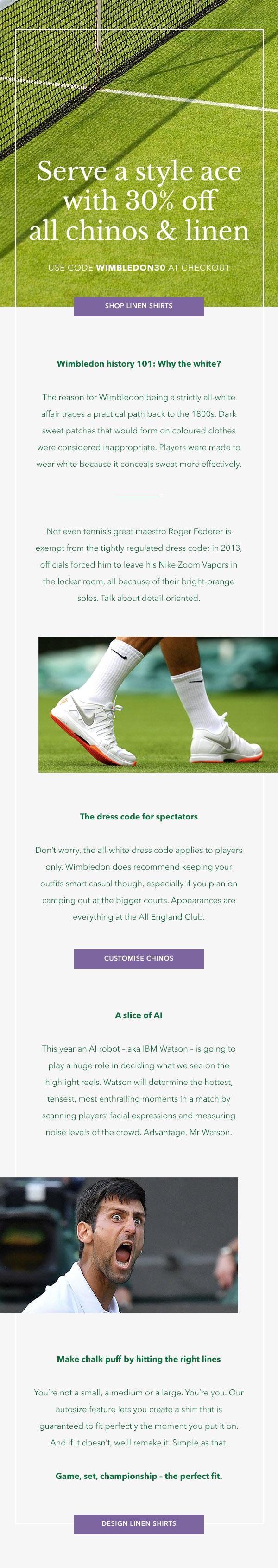 Wimbledon email